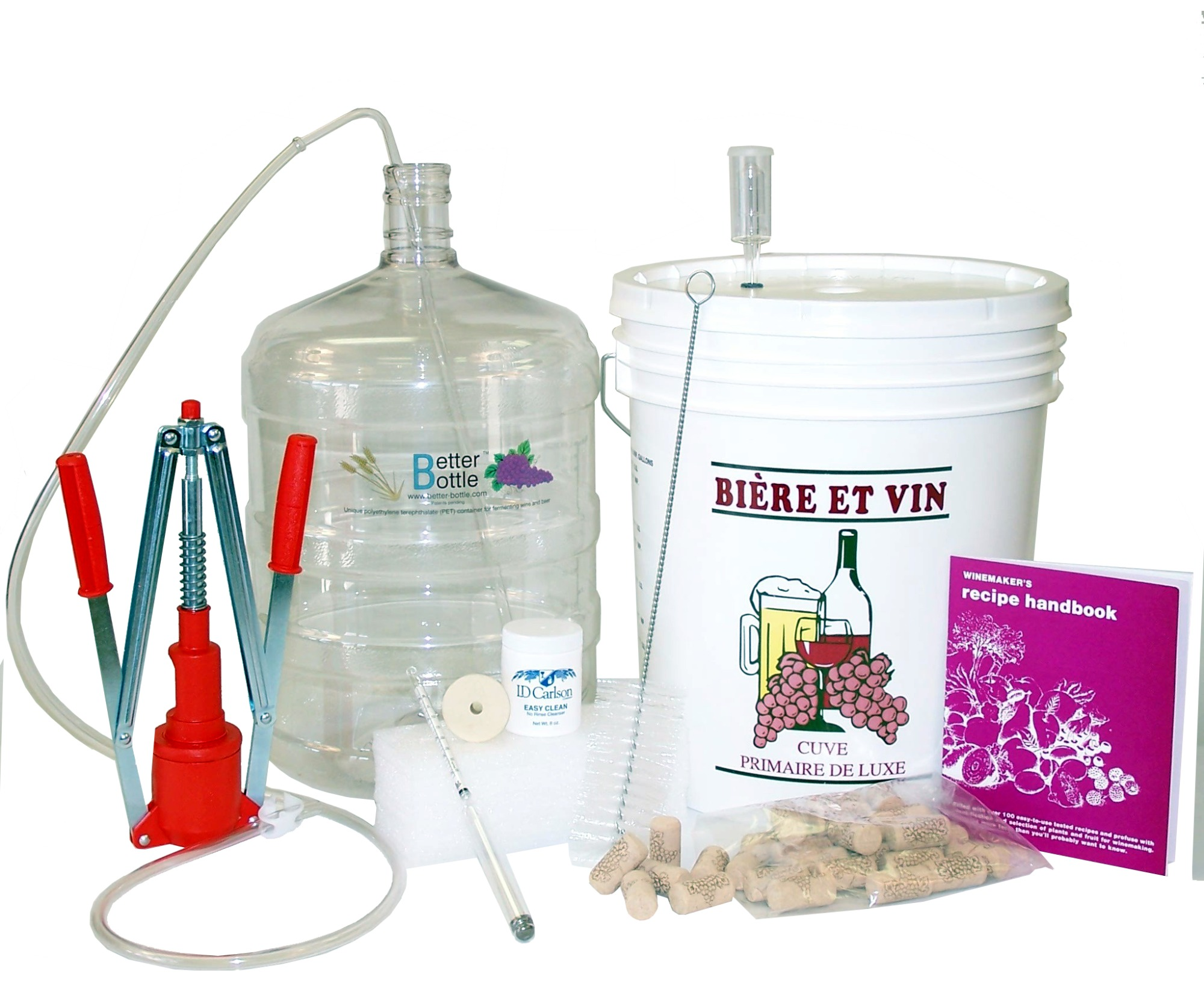 How to make wine at home wine kits the lazy winemaker for Kit per palafitte